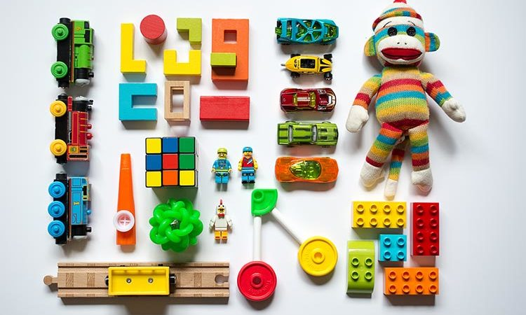 Organised toys