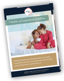 7 habits of organised families